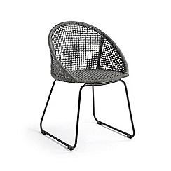 Debenhams - Set of 2 'La Forma' rattan round armchairs