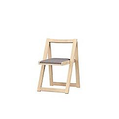 Debenhams - Set of 4 'Oslo' stowaway chairs