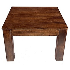 Debenhams - Mango wood side table