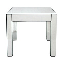 Debenhams - 'Mirrored' side table