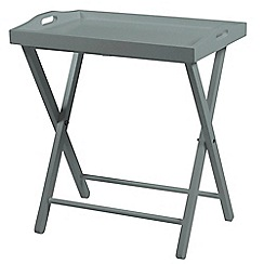 Debenhams - Grey 'Vinny' tray table