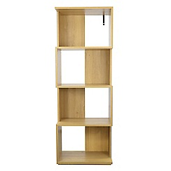 Debenhams - Oak 'Nash' bookcase