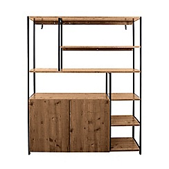Debenhams - Pine 'Brunel' bookcase