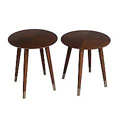 Debenhams - Round 'Vega' nest of 2 tables