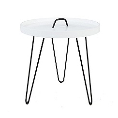 Debenhams - Round button side table
