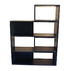 Debenhams - Black 'Fenton' adjustable shelving unit