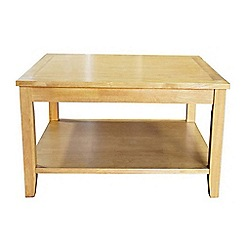 Debenhams - Oak effect 'Fenton' coffee table