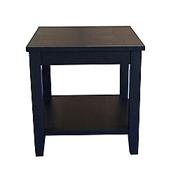 Debenhams - Black 'Fenton' side table