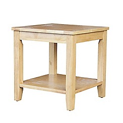 Debenhams - White 'Fenton' side table