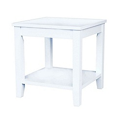 Debenhams - Oak effect 'Fenton' side table