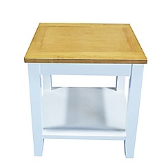 Debenhams - 2 tone 'Fenton' side table