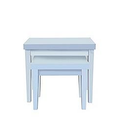 Debenhams - White 'Fenton' nest of tables