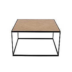 Debenhams - 'Parquet Square' coffee table
