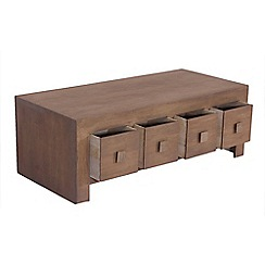 Debenhams - Mango light wood 'Jakarta' 8 drawer chest