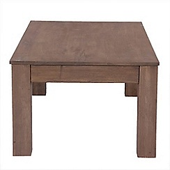 Debenhams - Mango light wood 'Jakarta' side table