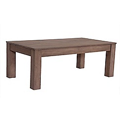 Debenhams - Mango light wood 'Jakarta' coffee table