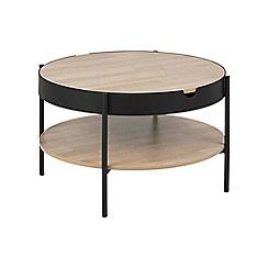 Debenhams - Multi-coloured 'Tipton' coffee tray table