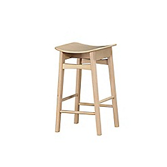 Debenhams - Pair of 'Oslo' bar stools