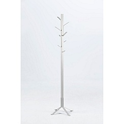 Debenhams - White 'Victor' coat stand