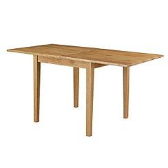 Debenhams - Oak 'Fenton' flip-top table