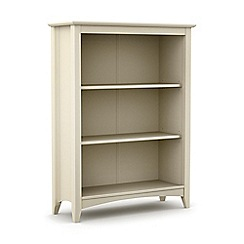 Debenhams - Soft white 'Barcelona' bookcase