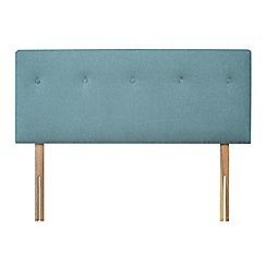 Sleepeezee - Light blue flat weave 'Dot' headboard