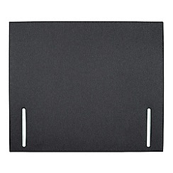 Sleepeezee - Dark grey flat weave 'Quince' headboard