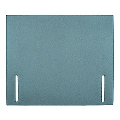 Sleepeezee - Light blue flat weave 'Quince' headboard