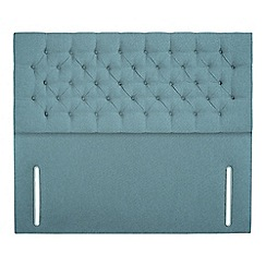 Sleepeezee - Light blue flat weave 'Chester' headboard