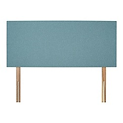 Sleepeezee - Light blue flat weave 'Brie' headboard