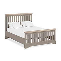 Corndell - Lime oak and dark grey 'Oxford Imperial' bed frame