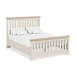 Corndell - Lime oak and cream 'Oxford Imperial' bed frame
