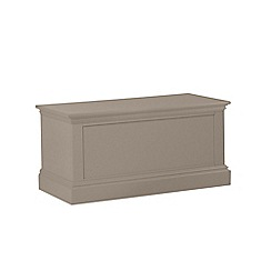 Debenhams - Dark grey 'Oxford' storage chest