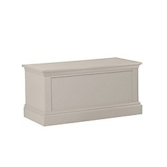Debenhams - Taupe 'Oxford' storage chest