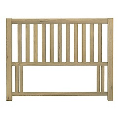Debenhams - Oak 'Turin' slatted headboard