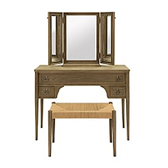 Willis & Gambier - 'Amelie' dressing table with mirror and stool