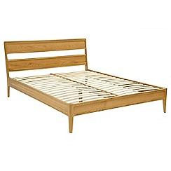 RJR.John Rocha - Oak 'Efni' bed frame