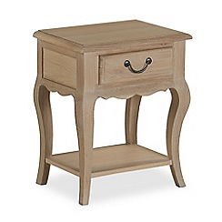 Corndell - 'Ascot' single drawer bedside cabinet