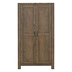 Debenhams - Oak 'Turin' double wardrobe