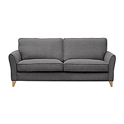 Debenhams - 4 seater textured 'Fyfield' sofa