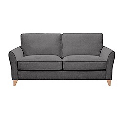 Debenhams - 3 seater textured 'Fyfield' sofa