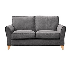 Debenhams - 2 seater textured 'Fyfield' sofa