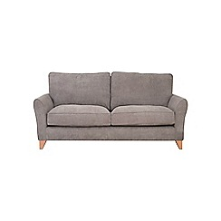 Debenhams - 3 seater velour 'Fyfield' sofa