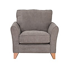 Debenhams - Velour 'Fyfield' armchair