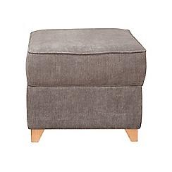 Debenhams - Velour 'Fyfield' footstool