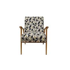 Debenhams - Geometric 'Kempton' armchair