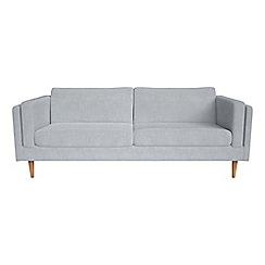 Debenhams - 4 seater brushed cotton 'Lille' sofa