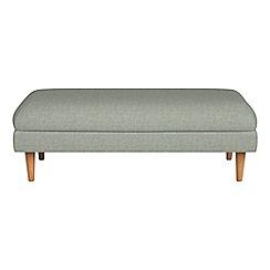 Debenhams - Textured weave 'Lille' footstool