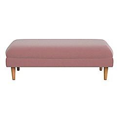 Debenhams - Velvet 'Lille' footstool