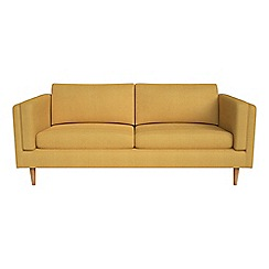 Debenhams - 3 seater tweedy weave 'Lille' sofa